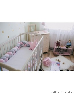 Baby Bumper : Knob Design (Mix Color 3 meter)
