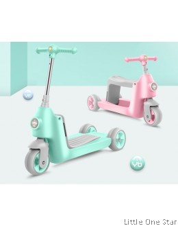 1 Scooter 2 usage (Pink pr Green)