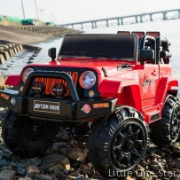 Toy Car: 2018 Jeep (Bigger in size and can play outdoor)