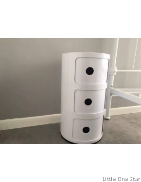 3 tier drawer side table