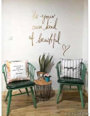 Wall Decor: Be your Own Kind Of Beautiful