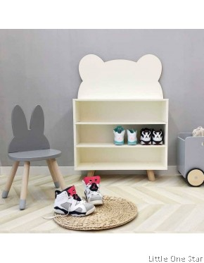 Book Shelf or any storage: Cloud or Bear design