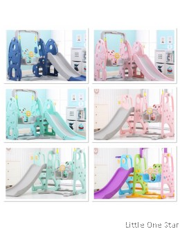 Kids Playground Carnival range (Slide + Swing)