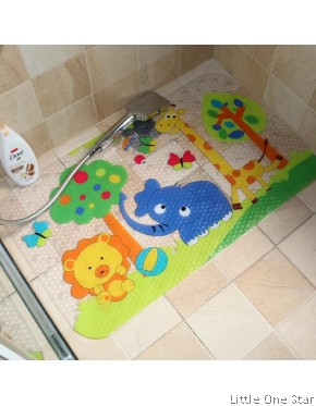 Aiti Slip Bath Mat in round edge design