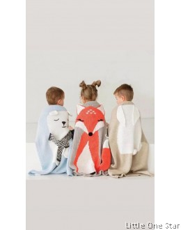 Blanket: Rabbit, Bear and Fox