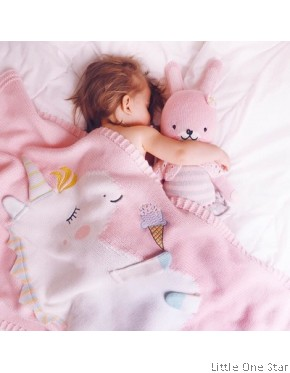 Blanket: Unicorn, Flamingo