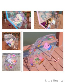 Kids Umbrella : Transparent design (More than 5 designs)
