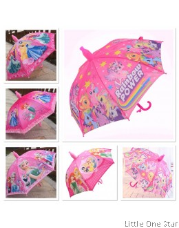 Kids Umbrella- PINK (Frozen, Princesses, Paw Patrol, Peppa, Little Pony etc)