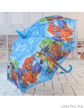 Kids Umbrella: BLUE COLOR (Peppa Pig, Paw Patrol and HEROES)