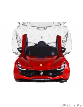 Toy Car: 2019 Ferrari with coolest LED light front back and side