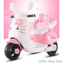 Motorbike: Hello Kitty with Flower design