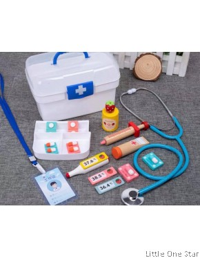 Wooden toys: Dentist Kitchen Set Basic set