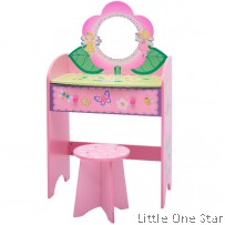 Wooden Toys: Princess Dresser table and Chair