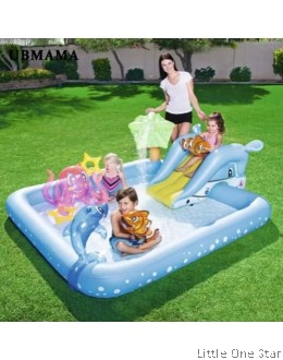 Inflatable Pool: Under the Sea theme pool