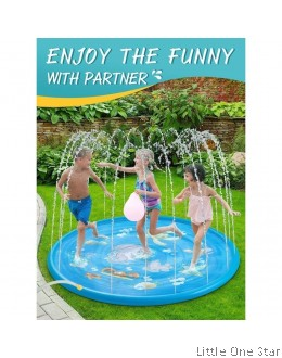 Inflatable splash pool. Fountain splash (100cm diameter)