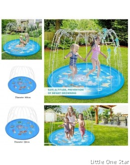 Inflatable splash pool. Fountain splash (150cm diameter)