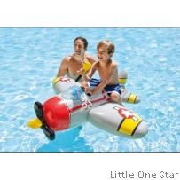 Inflatable Toys: Air Jet with water gun