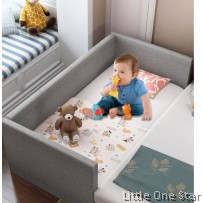 Bedding Furniture: 3 panel Attached Plain Design (Baby Cot Size)